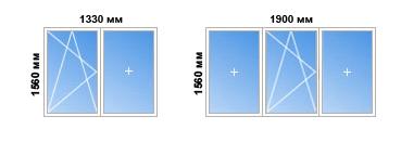 Цены на пластиковые окна для однокомнатной квартиры в домах .